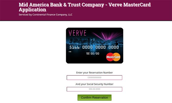 Matrix mastercard credit card